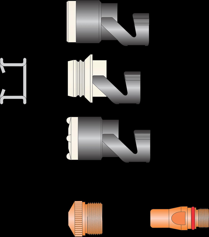 SAF – Tocha CP40R e CP100R – SAF – Tocha ZIP 5